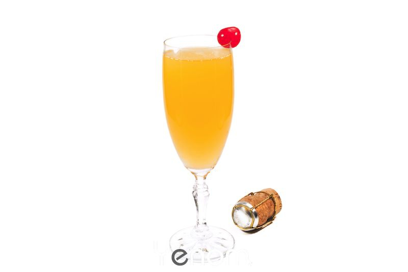 Champagne punch Cocktail
