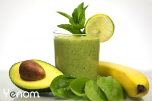 Avocado-spinazie smoothie