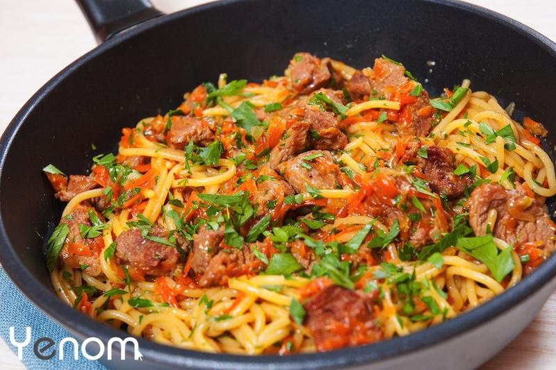 gerechten met shoarma