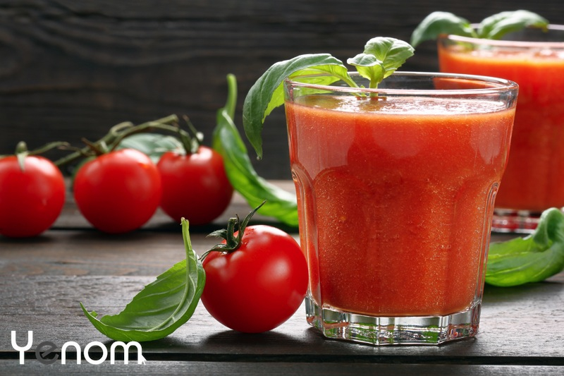 Wortel-tomaten smoothie