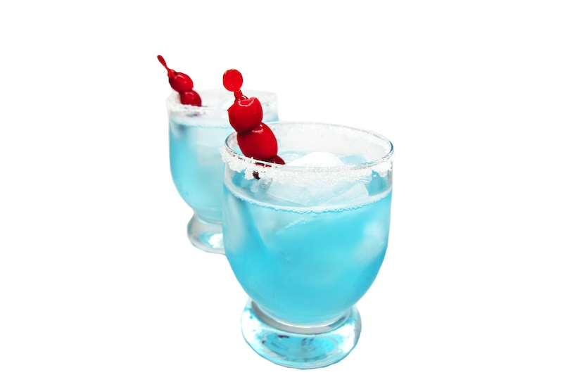 Smurfen Cocktail